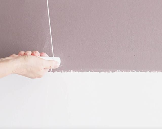 hướng dẫn sơn tường kẻ sọc 7