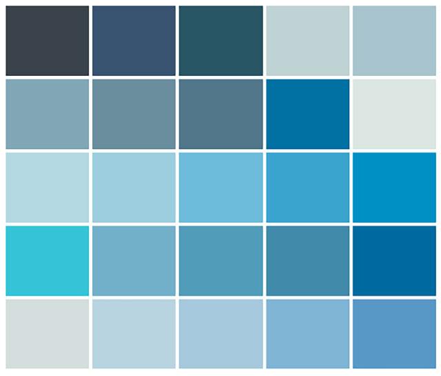 Màu sơn nhà đẹp hợp cho người mệnh Thủy - Ảnh 1