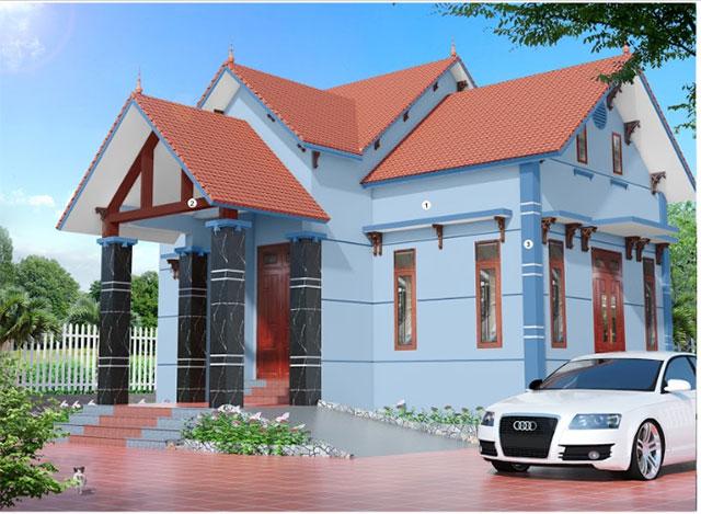 Màu sơn nhà đẹp hợp cho người mệnh Thủy - Ảnh 2