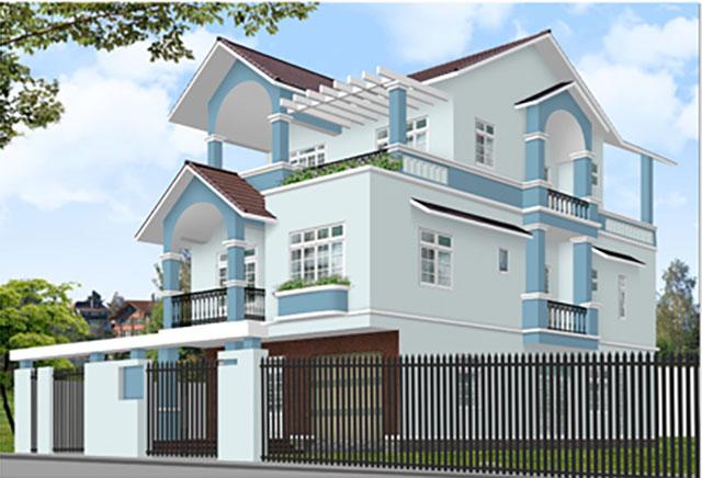 Màu sơn nhà đẹp hợp cho người mệnh Thủy - Ảnh 4