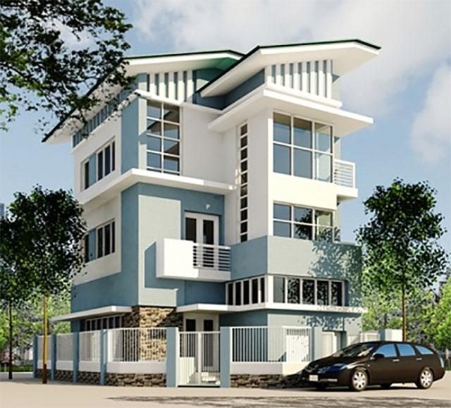 Màu sơn nhà đẹp hợp cho người mệnh Thủy - Ảnh 6