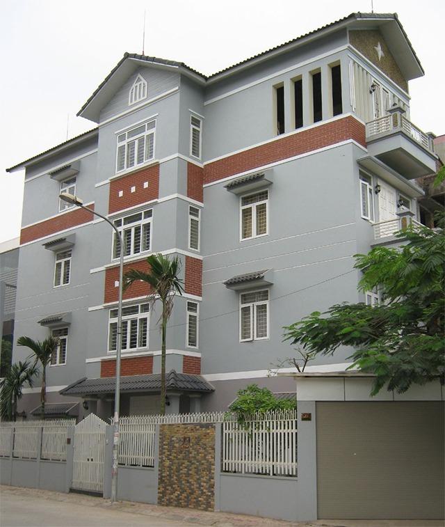 màu sơn nhà sang trọng 6