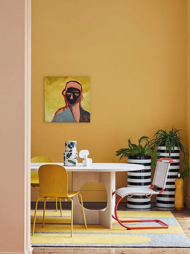 Phối màu sơn nhà cấp 4 - Ảnh 10