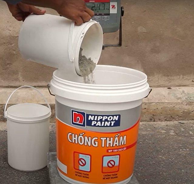 quy trình sơn chống thấm 2