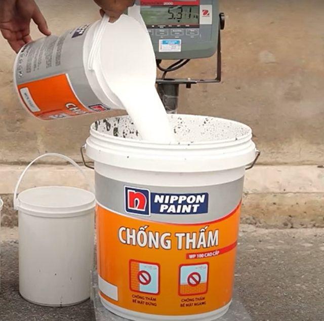 quy trình sơn chống thấm 3