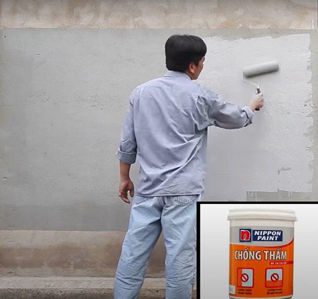 quy trình sơn chống thấm 7