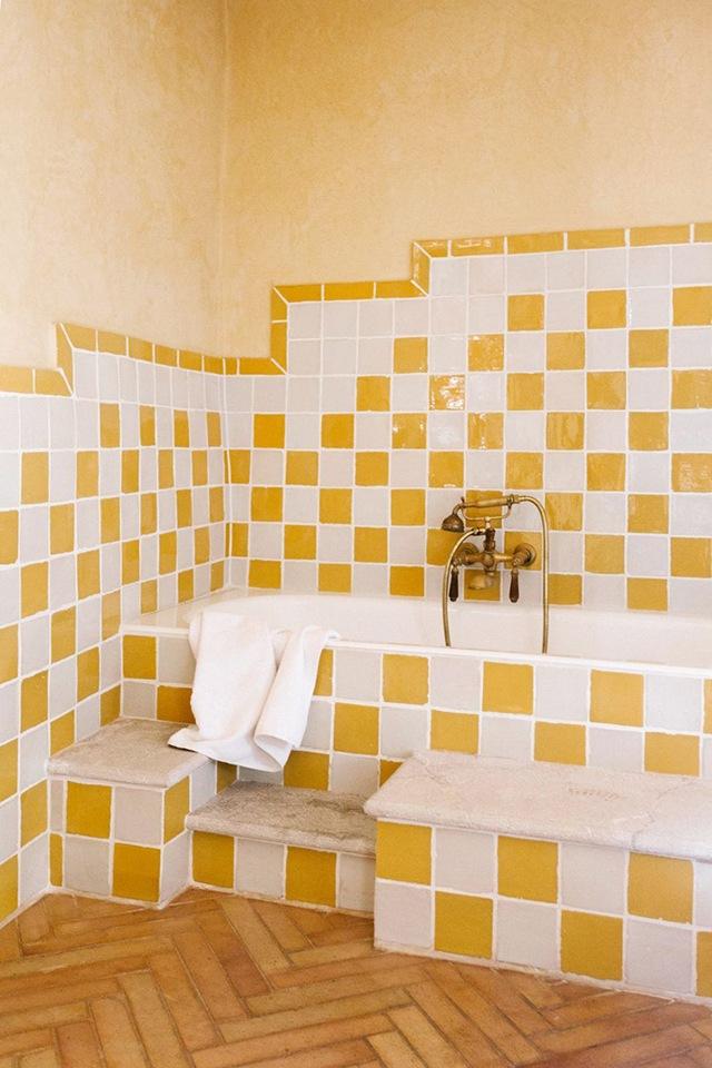 sơn nội thất màu vàng 11