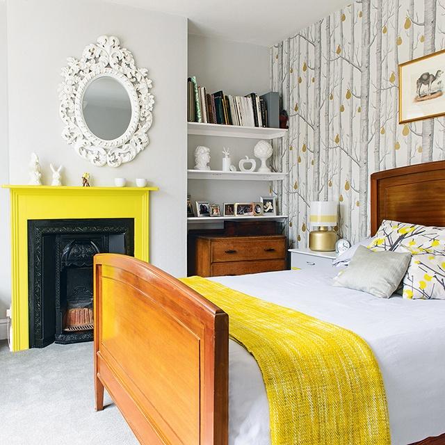 sơn nội thất màu vàng 15