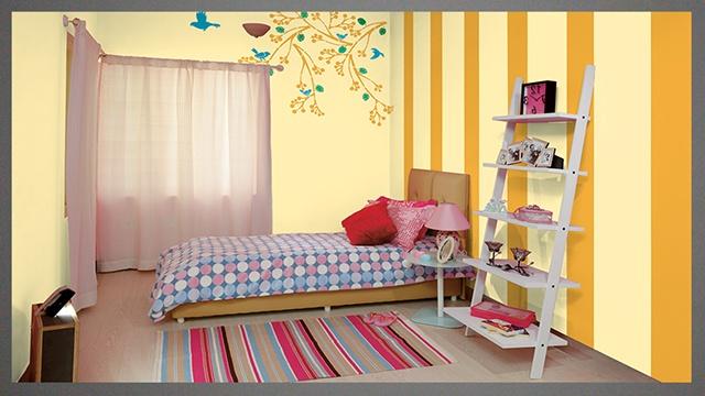 sơn nội thất màu vàng 16