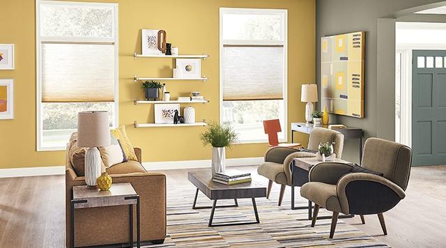 sơn nội thất màu vàng 29
