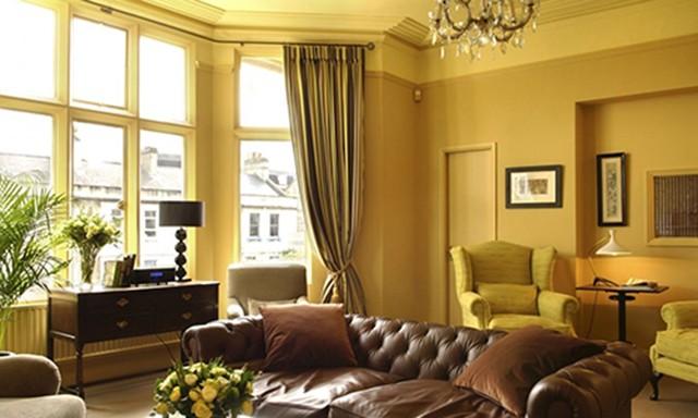 sơn nội thất màu vàng 3