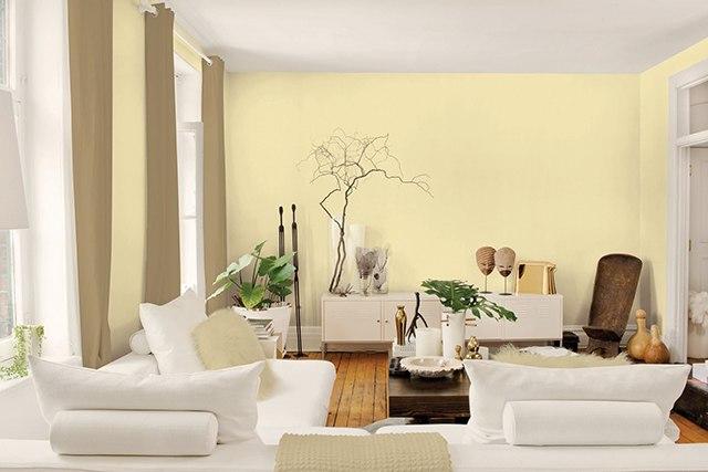 sơn nội thất màu vàng 30