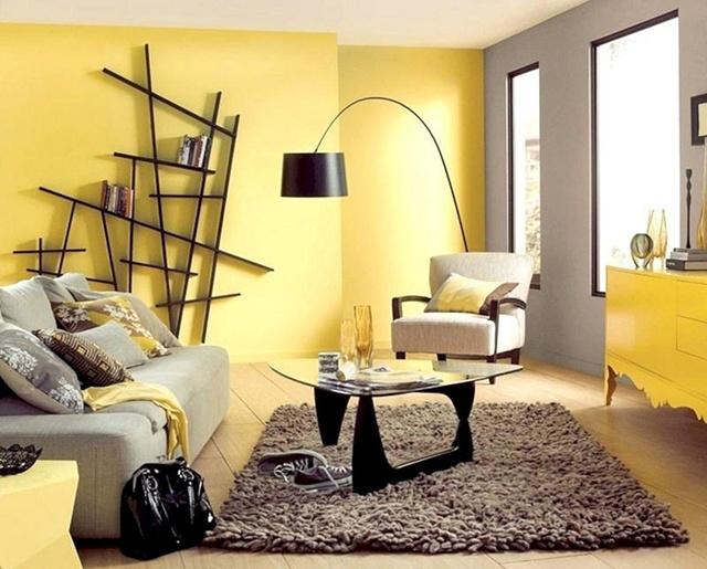 sơn nội thất màu vàng 31