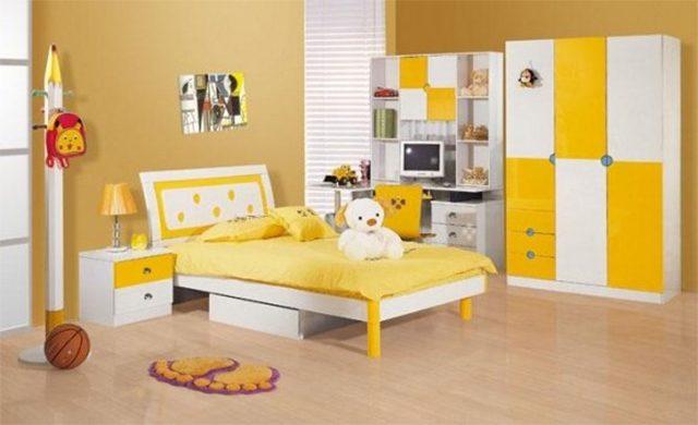 sơn nội thất màu vàng 4