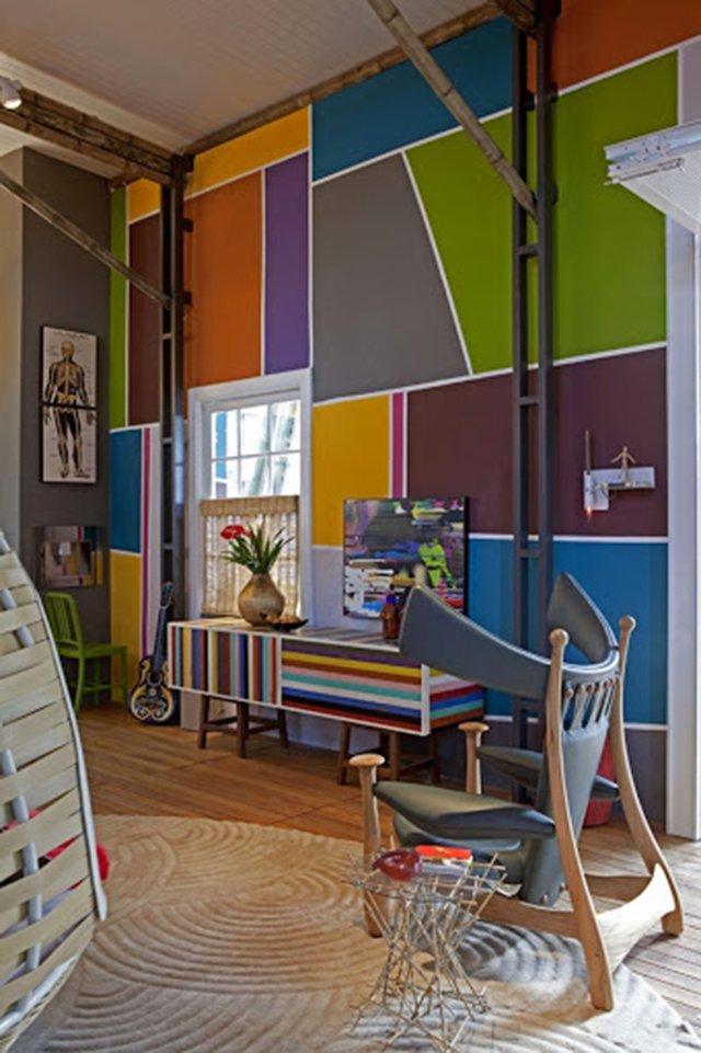 trang trí nhà bằng sơn tường 10