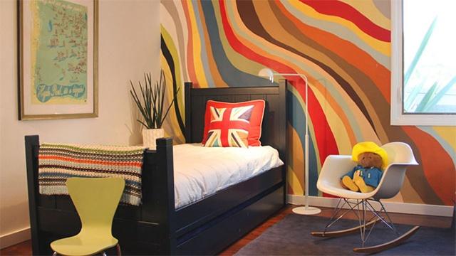 trang trí nhà bằng sơn tường 2