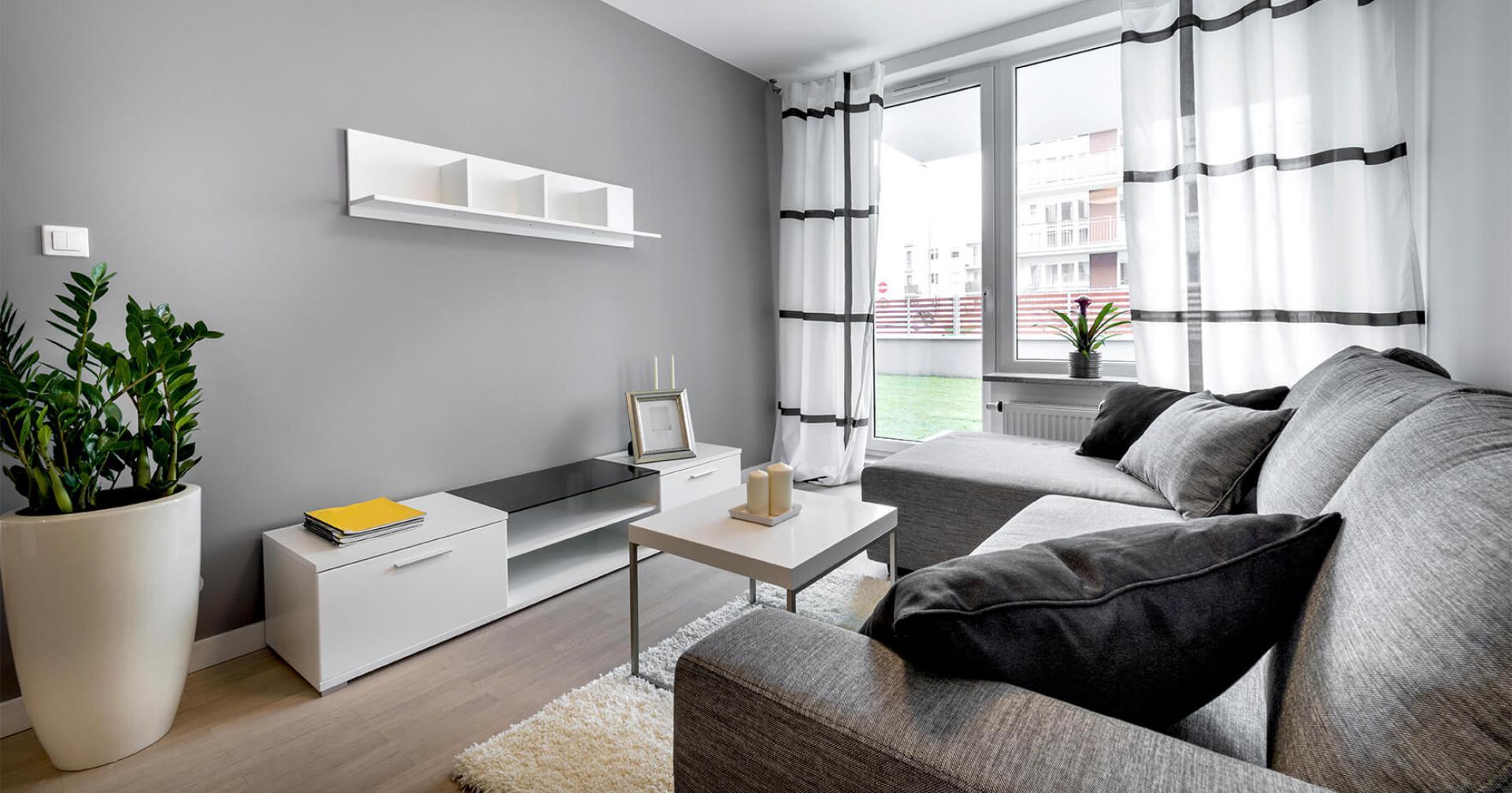 màu sơn phòng khách cho không gian hẹp