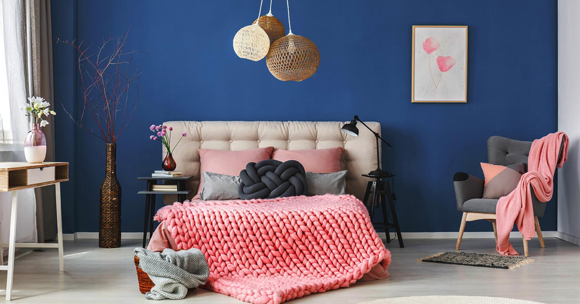 màu sơn phòng ngủ hiện đại