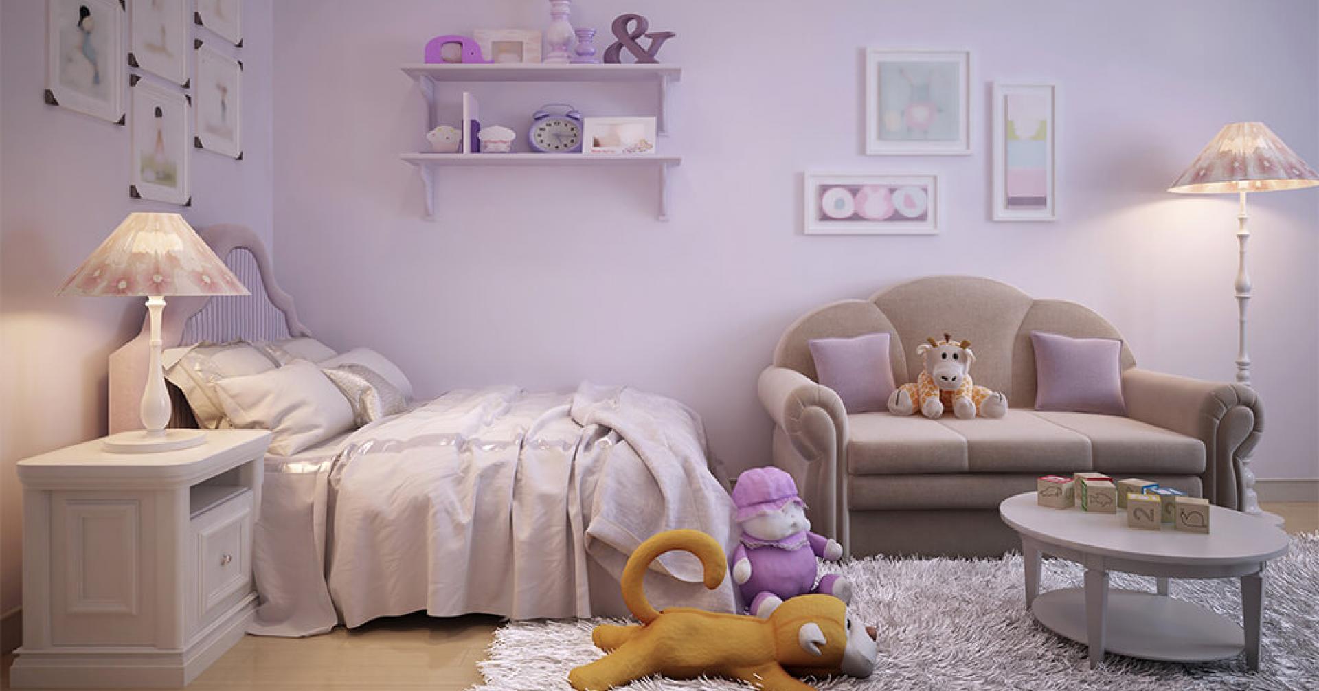 màu sơn phòng trẻ em