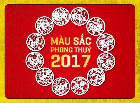 Màu Sắc Phong Thủy 2018